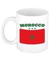Mok beker marokkaanse vlag 300 ml
