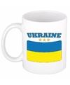 Mok beker oekraiense vlag 300 ml