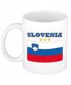 Mok beker sloveense vlag 300 ml