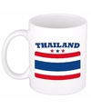 Mok beker thaise vlag 300 ml