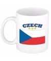 Mok beker tsjechische vlag 300 ml
