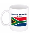 Mok beker zuid afrikaanse vlag 300 ml