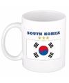 Mok beker zuid koreaanse vlag 300 ml