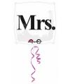 Mrs folie ballon