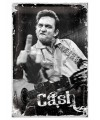 Muurplaat johnny cash 20 x 30 cm