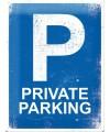 Muurplaat private parking 30 x 40 cm