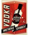 Muurplaatje vodka 30 x 40 cm
