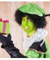Neon groene piet