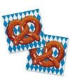 Oktoberfest pretzel servetten