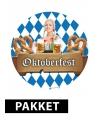 Oktoberfest versiering pakket