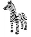 Opblaas zebra 60 x 55 cm
