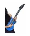 Opblaasbare blauwe elektrische gitaar 99 cm