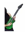 Opblaasbare groene elektrische gitaar 99 cm