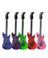 Opblaasbare lime elektrische gitaar