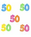 Opblaascijfers 50