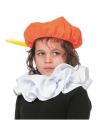 Oranje pieten baret voor kinderen
