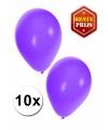 Paarse ballonnen 10 stuks
