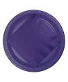 Paarse borden 8 stuks