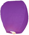 Paarse wensballon