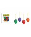 Paastak hangertjes 12 gekleurde eitjes