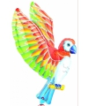 Papegaai dieren folie ballon 66 cm