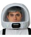 Plastic astronauten helm voor volwassenen