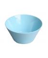 Plastic schaal blauw 15 x 7 cm