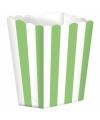 Popcorn bakjes lime 5 stuks