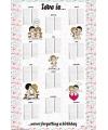 Poster liefde is kalender maxi poster maxi 61 x 91 cm
