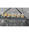 Poster minions lunch on a sky scraper 61 x 91 cm