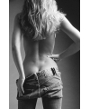 Poster sexy dame in jeans 61 x 91 5 cm