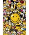 Poster smileys maxi 61 x 91 cm