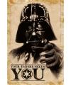 Poster star wars darth vader 61 x 91 5 cm