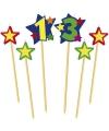 Prikker kaarsje cijfer 13