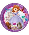 Prinsesje sofia bordjes 8 stuks