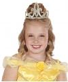 Prinsessen tiara goud