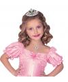 Prinsessen tiara met groene steentjes