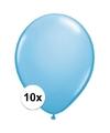 Qualatex ballonnen baby blauw 10 stuks