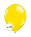 Qualatex ballonnen citroen geel 25 stuks