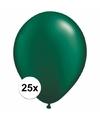 Qualatex ballonnen donkergroen 25 stuks