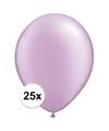 Qualatex ballonnen parel lavendel 25 stuks
