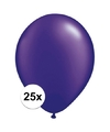 Qualatex ballonnen parel paars 25 stuks