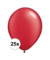 Qualatex ballonnen ruby rood 25 stuks