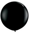 Qualatex mega ballon 90 cm zwart