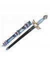 Ridderzwaard 50 cm blauw