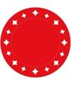 Rode placemats 33 cm
