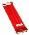 Rode puntkaarsen 24 cm