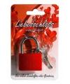 Rood liefdesslot 3 8 cm