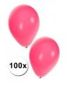 Roze ballonnen 100 stuks