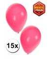 Roze ballonnen 15 stuks
